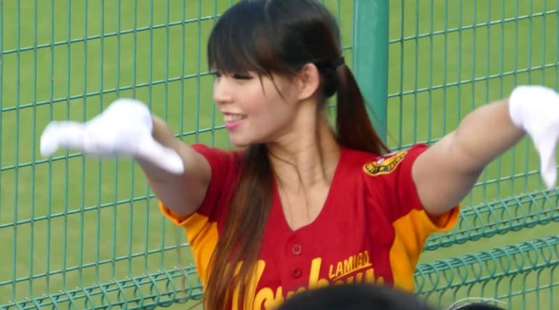 かわいいっ!台湾ラミゴモンキーズのチアリーダー