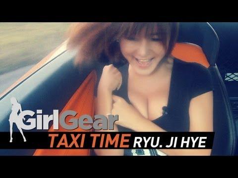 [アジア]スーパーカーに乗った美女の胸チラ